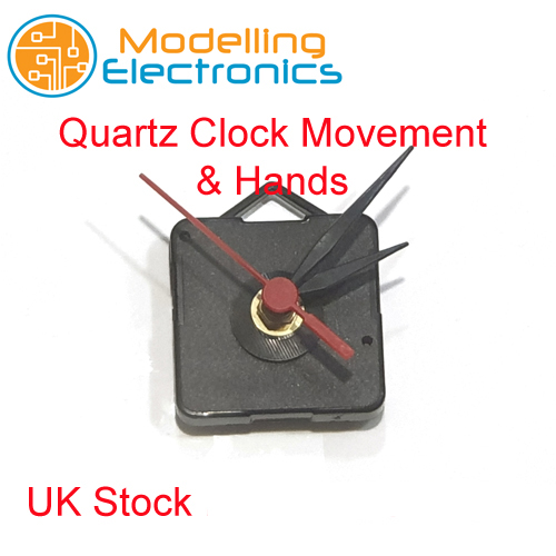 DIY Repair New Replacement Quartz Clock Movement Mechanism Motor /& Fittings