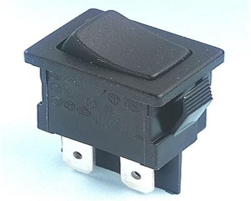 Everel A1 Series Miniature Rocker SPDT Switches x 5